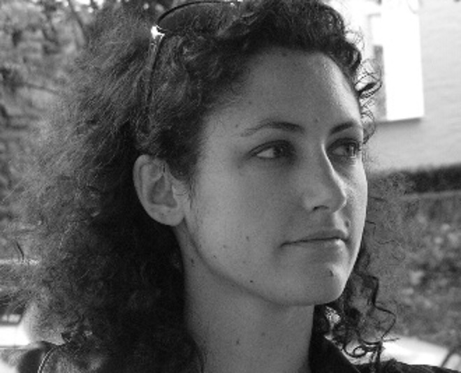 Emmanuelle Bizien, cheffe du Chœur Nuovo Marco de 2013 à 2014