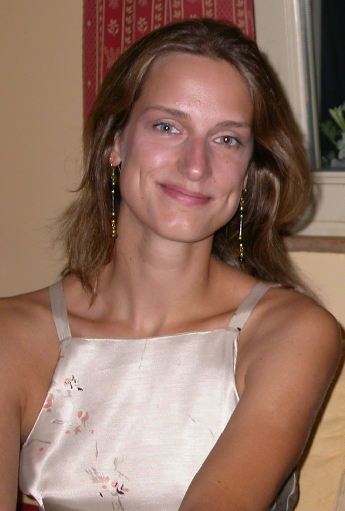 Séverine Delforge, cheffe du Chœur Nuovo Marco de 1999 à 2005