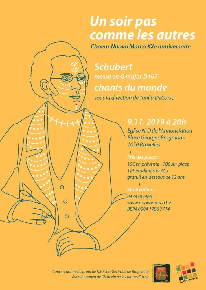 Affiche du concert 2019 de Nuovo Marco : Un soir pas comme les autres